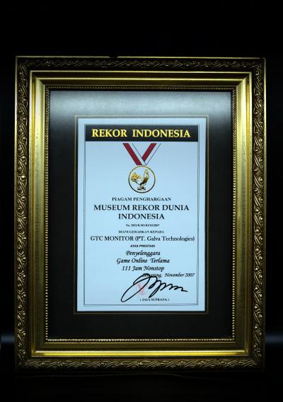 Museum Rekor Dunia (MURI) Indonesia Award