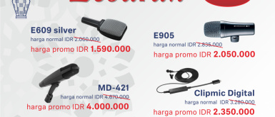 Special Lebaran Promotion for Sennheiser products